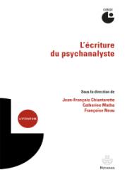 L'écriture du psychanalyste